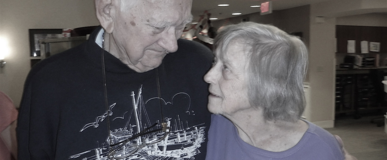 Dad and Mom - Oct 2016 66 years of marriage summed up in one photograph. Dad and Mom celebrating their anniversary